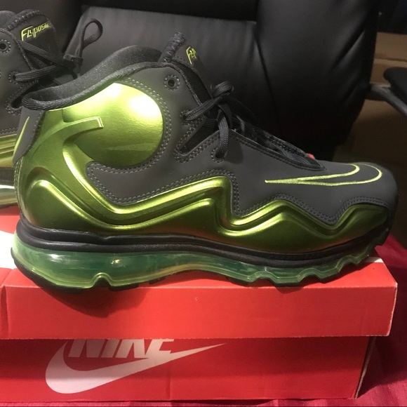 sneakers for cheap 05eda c8914 Nike Air Max Flyposite Lime Green  Gray 8.5. M5bc8a3229fe486098fa8be34